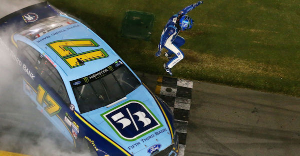 Roush Fenway Racing driver wins at Daytona for his second win of the year