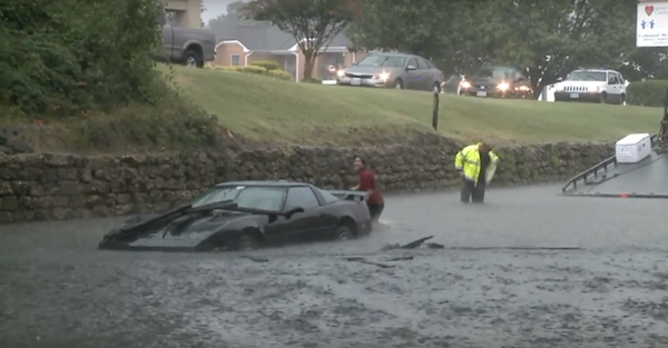 Why You Never, Ever Try to Save Your Car in Floodwaters
