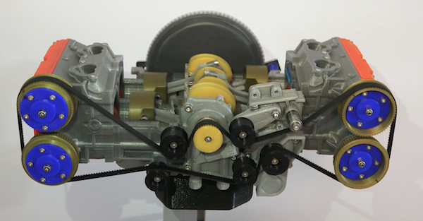 You can make this awesomely complex motor in your own home
