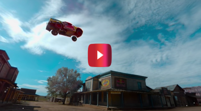 360-Degree View of a World Record Truck Jump