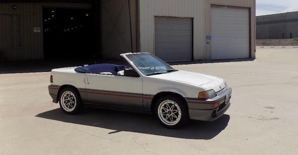 Are you weird enough to own this CRX HF convertible?