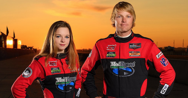 This 18-year-old girl is trying to take the racing world by storm
