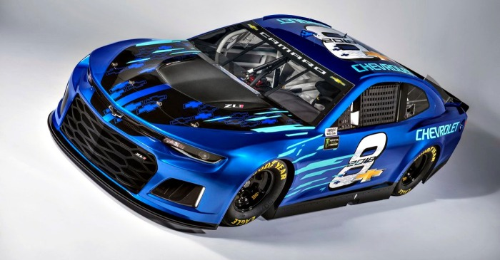 NASCAR drivers are wowed by the new look Chevy that debuts next season