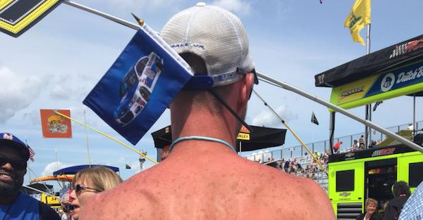Fan honors Dale Jr. in the strangest way