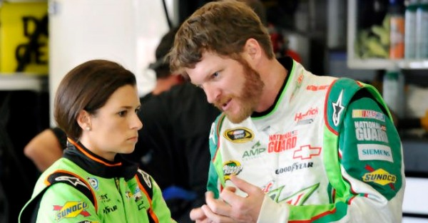 This popular driver's social media accounts may hint at a future without NASCAR