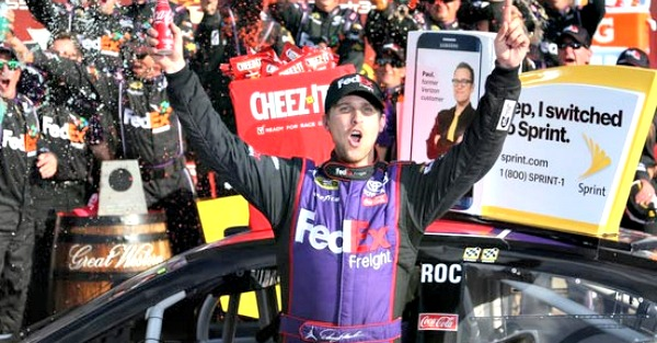 Joe Gibbs racing makes other plans as Denny Hamlin may not be able to race this weekend