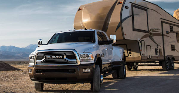 The new Dodge Ram can tow almost anything you could want it to