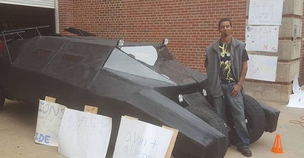 You can build your own Batman Tumbler with this hero's instruction