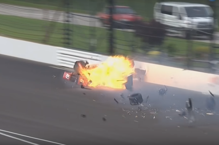 Driver who survived frightening crash finally about to return to the track