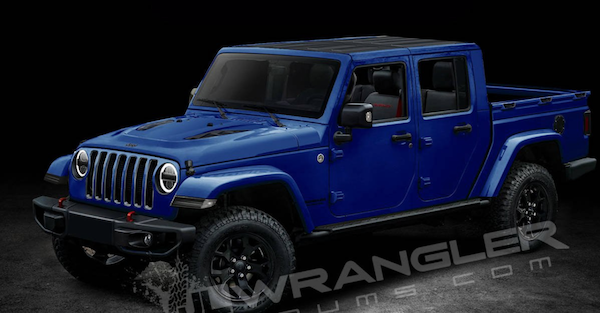 Check out the new Jeep Wrangler truck, called the Jeep Scrambler