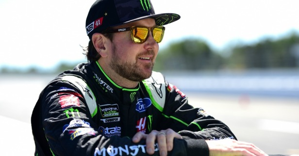 There was an odd hangup in Kurt Busch's contract negotiations