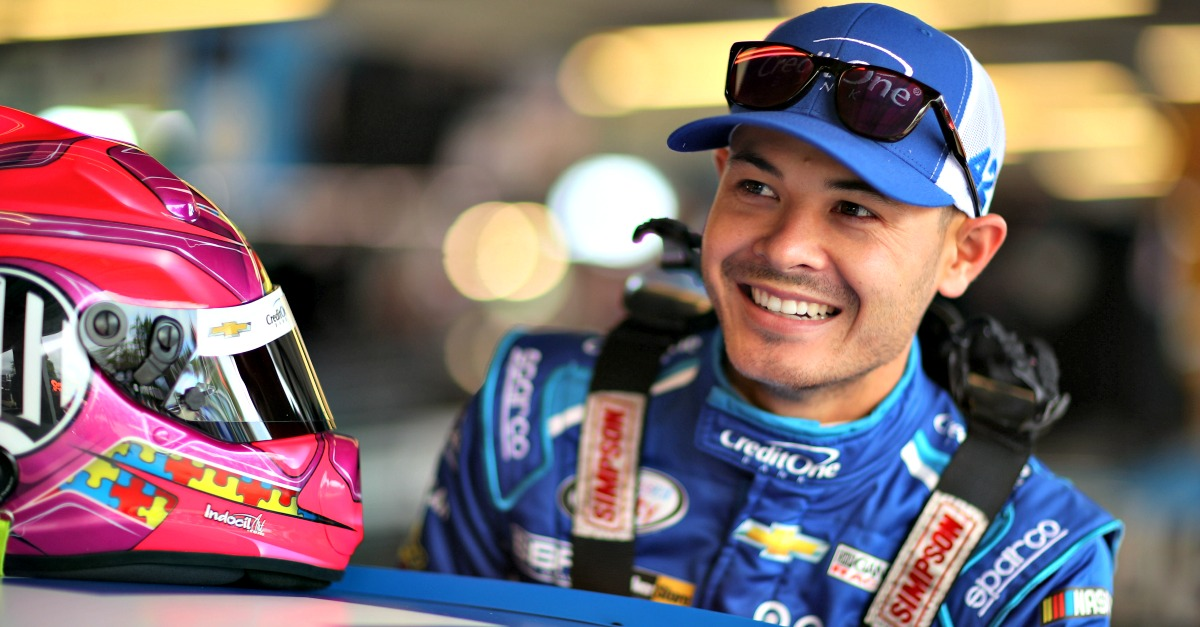 Kyle Larson got his wish but couldn't deliver