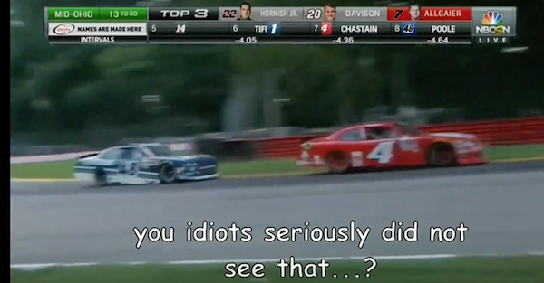 Video finds mistakes and mocks NBC's NASCAR coverage