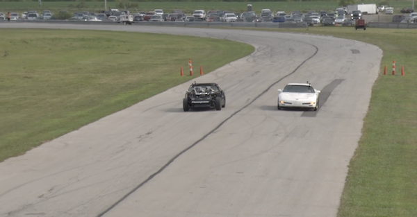 Watch a face off between the fastest Corvettes on Youtube