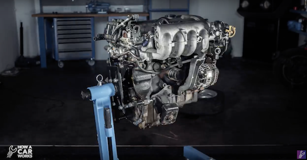 This time-lapse engine tear down video is the coolest thing you'll see today