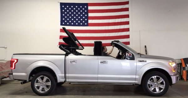 Ford F-150 Convertible Truck Is Both Strange and Captivating