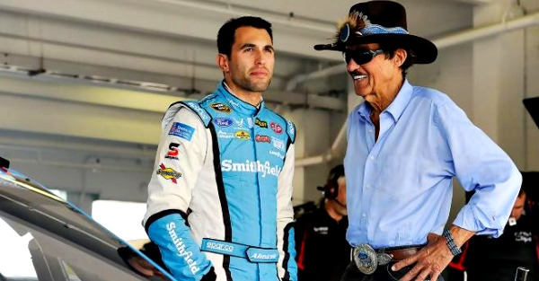 Aric Almirola opens up about being let go by RPM, and he says it wasn't pleasant