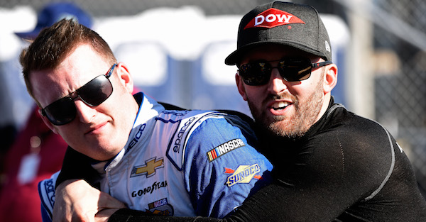 Having a baby left a NASCAR driver with a renewed focus