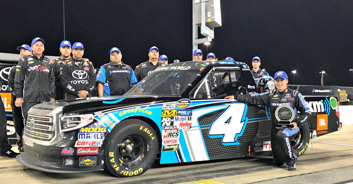 NASCAR Camping World Truck Series crowns its champion