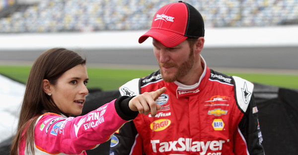 NASCAR today on Social: Danica's new look, Jones' question for Brady, drivers miss their kids, and more