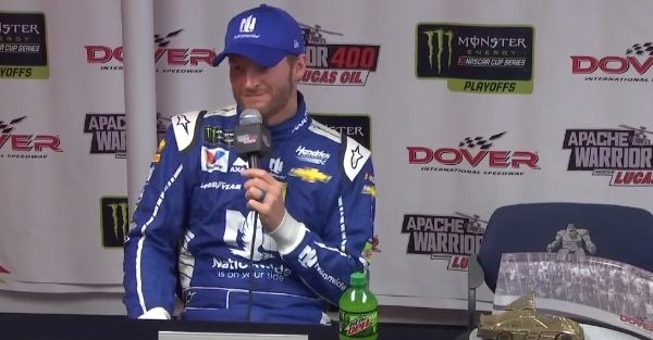 Dale Earnhardt Jr. Has a Go-To Alias If He Needs to Sneak into Any Future Races