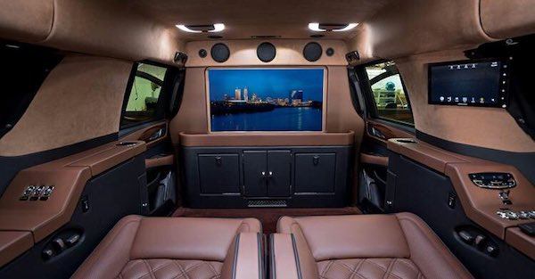 A mobile office fit for a king is what's required when an NFL QB doesn't want to change cities