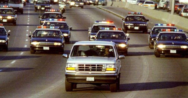 These are the ten most memorable police chases