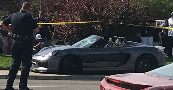 11 hurt in a predictable incident involving a Porsche at a cars and coffee