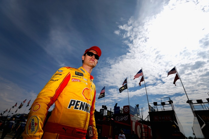 Joey Logano is putting his money where his mouth is