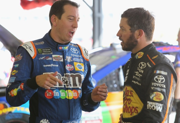 Three Cup playoff drivers hit with infractions, penalized before Martinsville