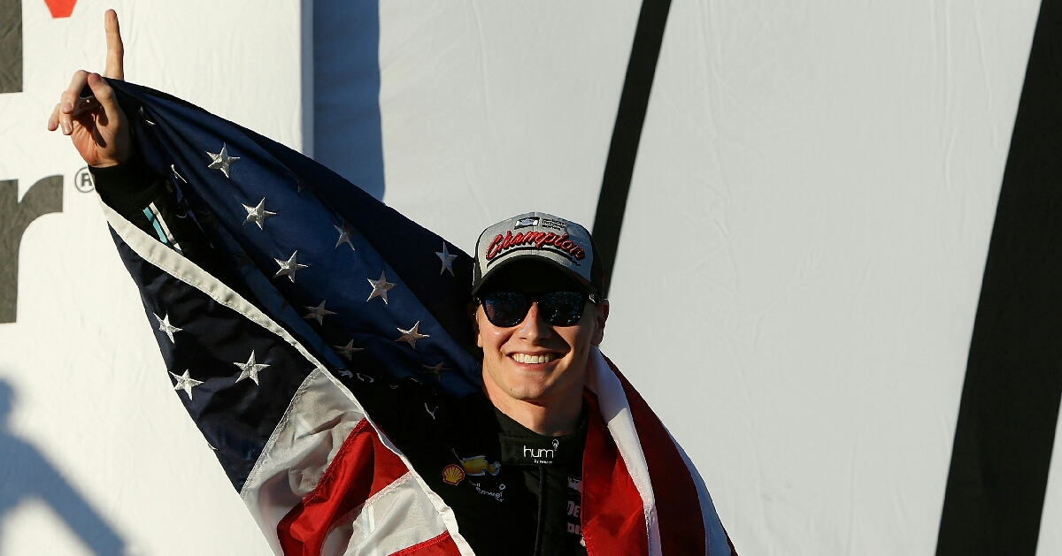 An American driver becomes the face of IndyCar