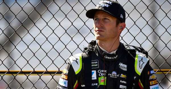 Kasey Kahne was late signing with his new team, and the reason is awfully embarrassing
