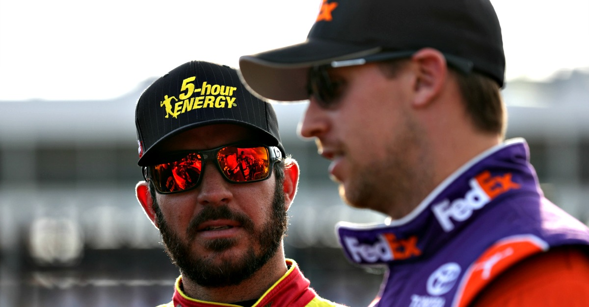 Denny Hamlin said this is why Martin Truex Jr. has been so fast this year