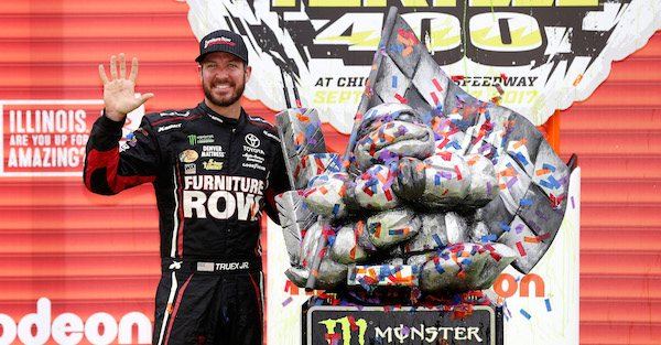 At Kansas, Martin Truex Jr. joins NASCAR legends by accomplishing this feat