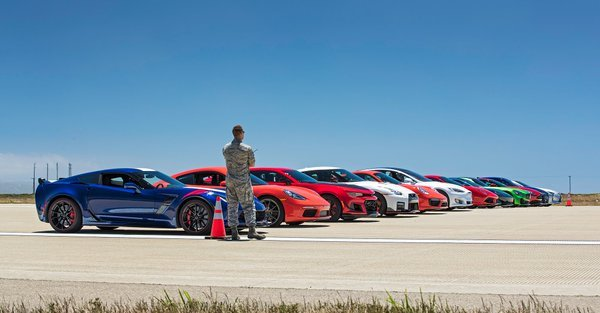 "This time, the ""world's greatest drag race"" takes place on an Air Force Base"