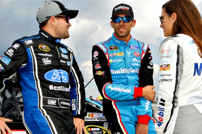 One NASCAR driver is looking for a fight this weekend