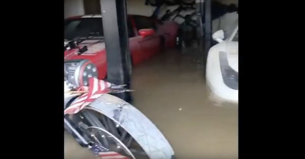 Hurricane Harvey takes no prisoners, including a garage full of exotic cars