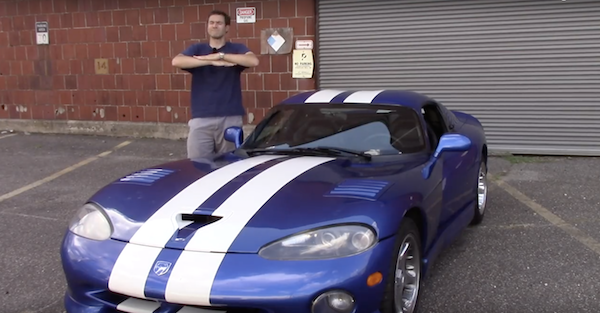 Here's how you sum up a year of Dodge Viper ownership