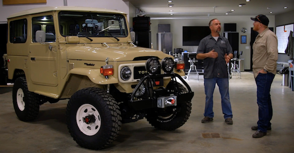 This restored FJ40 will make your brand new Jeep cry