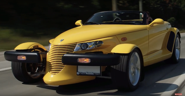 The Plymouth Prowler is the weirdest car the 90's could come up with