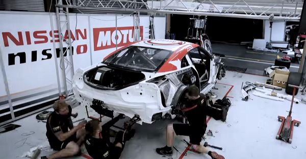 Spa 24 Hours documentary shows how Nissan rebuilt a GT-R racecar in 12 hours