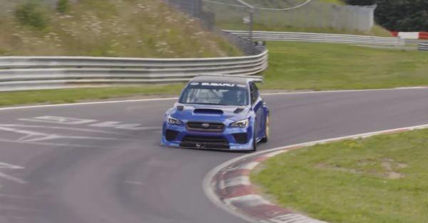 (VIDEO) Modified Subaru WRX STI sets lap record at Nurburgring for sedans