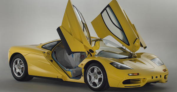 The McLaren F1 is perfect enough, but this one for sale is even more so