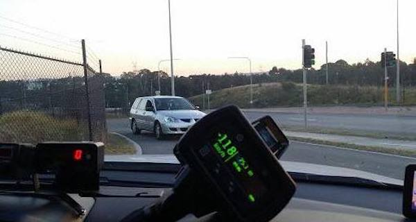Cops Down Under take speeding seriously — but also have a bit of fun