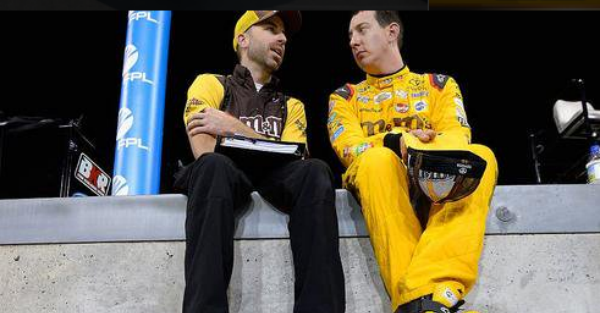 Kyle Busch and his crew chief go after each other — verbally — during Charlotte
