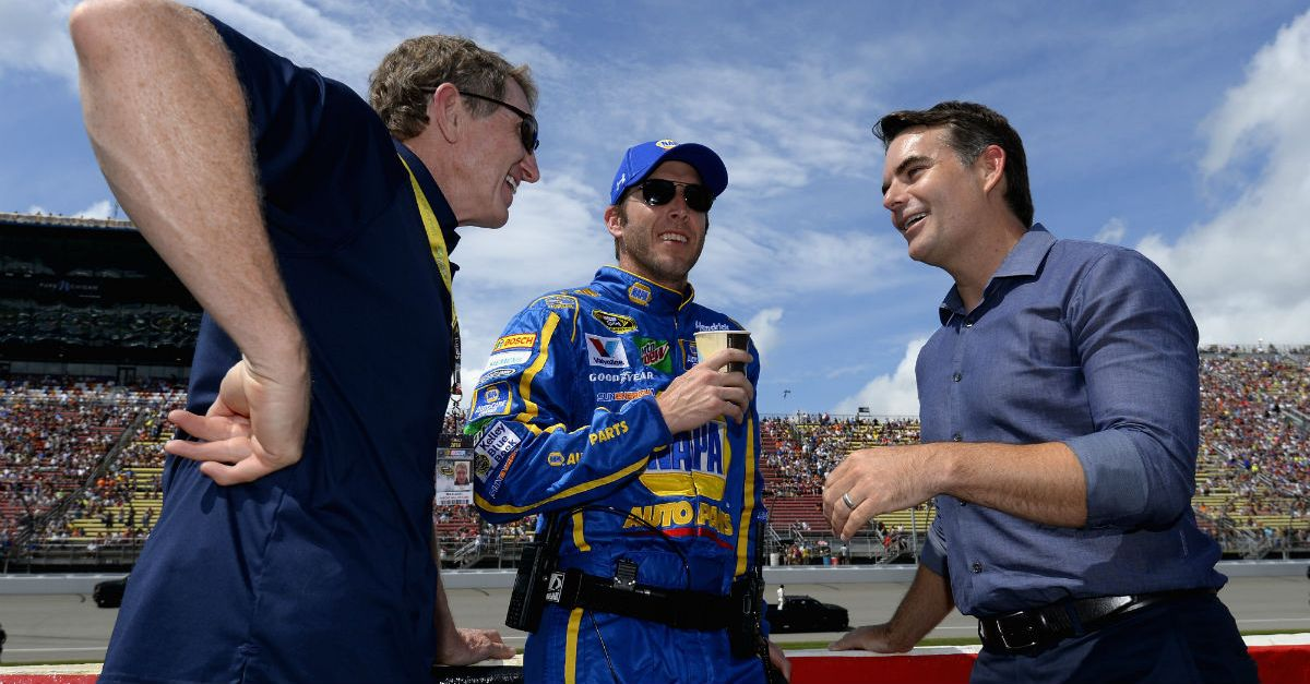 A NASCAR legend says he could return to the sport in a more prominent role