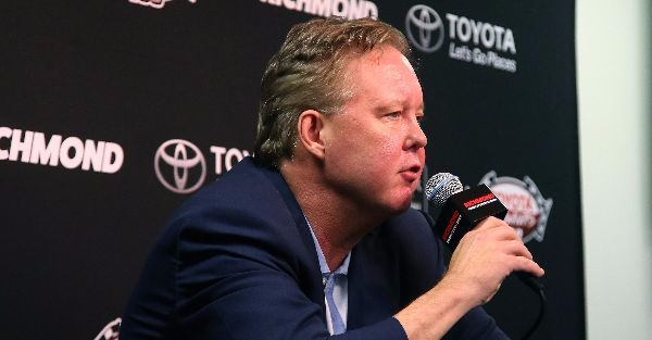 Brian France has been linked to an NFL bid before, and he reportedly denied it then, too