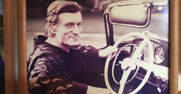 Hugh Hefner's car collection reflected his eccentric tastes