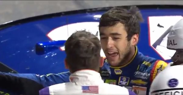 "A unlikely voice praises Chase Elliott: ""I think Chase handled himself very well."""