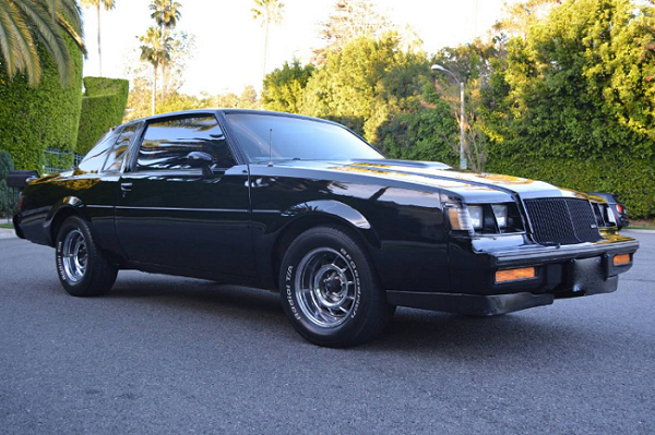 This 1987 Buick Grand National Is Being Sold by the Last Person You'd Expect